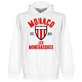 Monaco Eastablished Hoodie - White