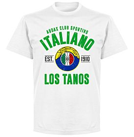 Audax Italiano EstablishedT-Shirt - White
