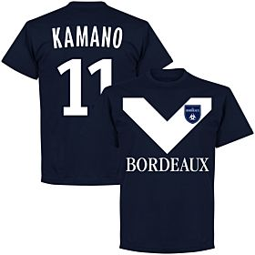 Bordeaux Kamano 11 Team Tee - Navy