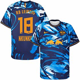 20-21 RB Leipzig 3rd Shirt + Nkunku 18 (Official Printing)