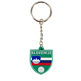Slovenia Rubber Keyring