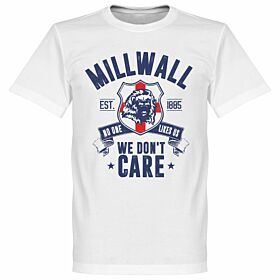 Millwall We Don't Care Tee - White