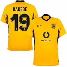 21-22 Kaizer Chiefs Home Shirt + Radebe 19 (Fan Style)