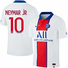 20-21 PSG Vapor Match Away Shirt + Neymar Jr 10