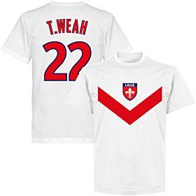Lille T. Weah 22 Team T-shirt - White