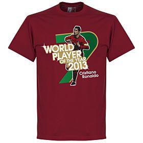 Ronaldo 2013 World Player of the Year Tee