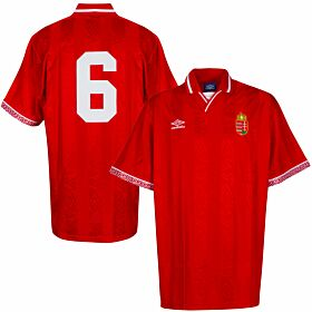 Umbro Hungary 1992-1994 Home Shirt - NEW (Original Packaging) - Size L - Player Issue No.6