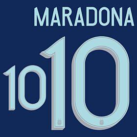 Maradona 10 - Argentina Away 2020-2021
