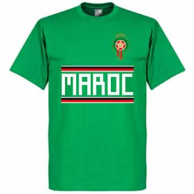 Morocco Team  Tee - Green