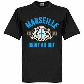 Marseille Established Tee - Black