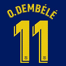 O.Dembele 11 (Official Pro Size)