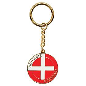 Switzerland Enamel Keyring