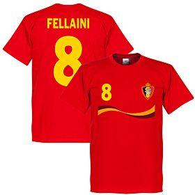 Belgium Fellaini Tee - Red