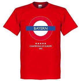 Bayern Underground Tee - Red