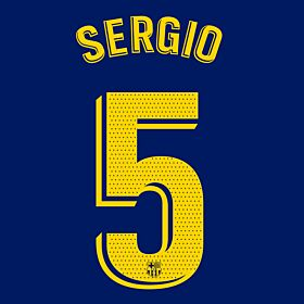 Sergio 5 (Official Pro Size)