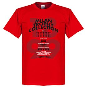 Milan Trophy Collection Tee - Red