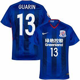 2018 Shanghai Shenhua Home Shirt (Player Issue) +