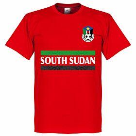 South Sudan Team Tee - Red