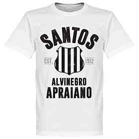 Santos Established Tee - White