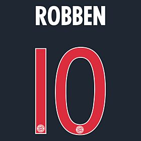 Robben 10 - Boys Bayern Munich 3rd KIDS Official Name & Number 2015 / 2016
