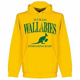 Australia Wallabies Rugby Hoodie - Yellow