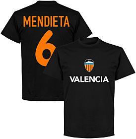 Valencia Mendieta 6 Team T-shirt - Black