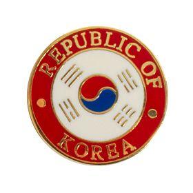 Korea Pin Badge