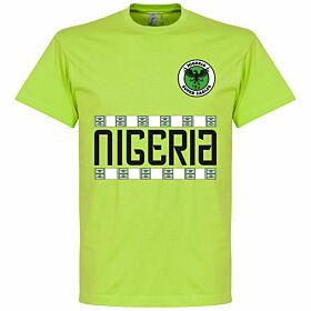 Nigeria Team Tee - Light Green