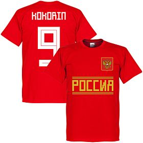 Russia Kokorin 9 Team Tee - Red