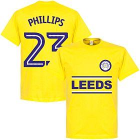 Leeds Phillips 23 Team Tee - Lemon Yellow