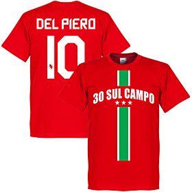 30 Sul Campo Del Piero Tee - Red