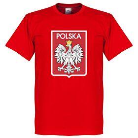Poland Team Crest Tee - Red