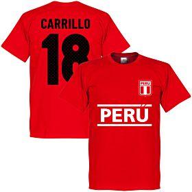 Peru Carrillo 18 Team Tee - Red