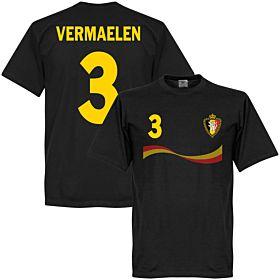 Belgium Vermaelen Tee - Black