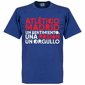Atlético Motto Tee - Royal
