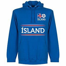 Iceland Team Hoodie - Royal