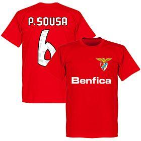 Benfica P. Sousa 6 Team Tee - Red