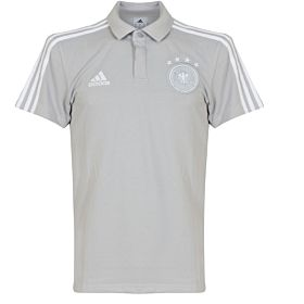 Germany Cotton Polo 2018 / 2019 - Grey/White