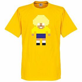 Valderrama Pixel Players Tee - Yellow