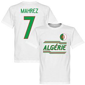 Algeria Mahrez 7 Team T-Shirt - White