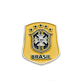Brazil Crest Pin Badge