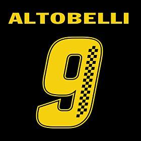 Altobelli 9 (Racing Style)