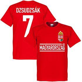 Hungary Dzsudzsak Team Tee - Red