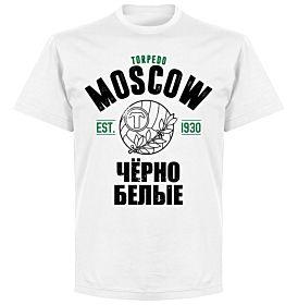 Torpedo Moscow Established T-shirt - White