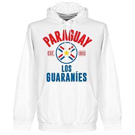 Paraguay Established Hoodie - White