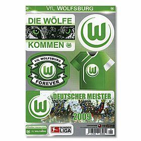 VfL Wolfsburg Sticker Card