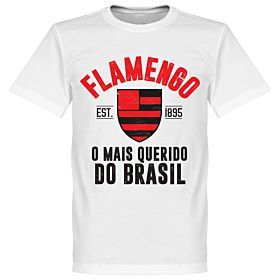Flamengo Established Tee - White
