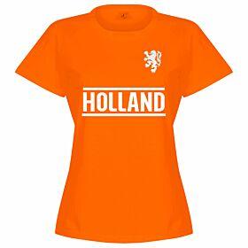 Holland Team Womens Tee - Orange