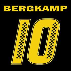 Bergkamp 10 (Racing Style)