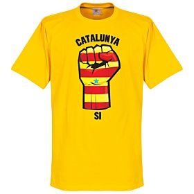Catalunya Fist Tee - Yellow